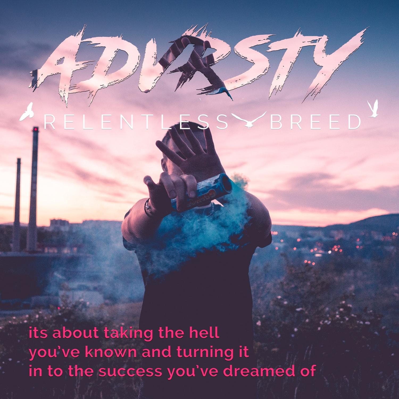 Hell to Success Advrsty Social Media Post Design