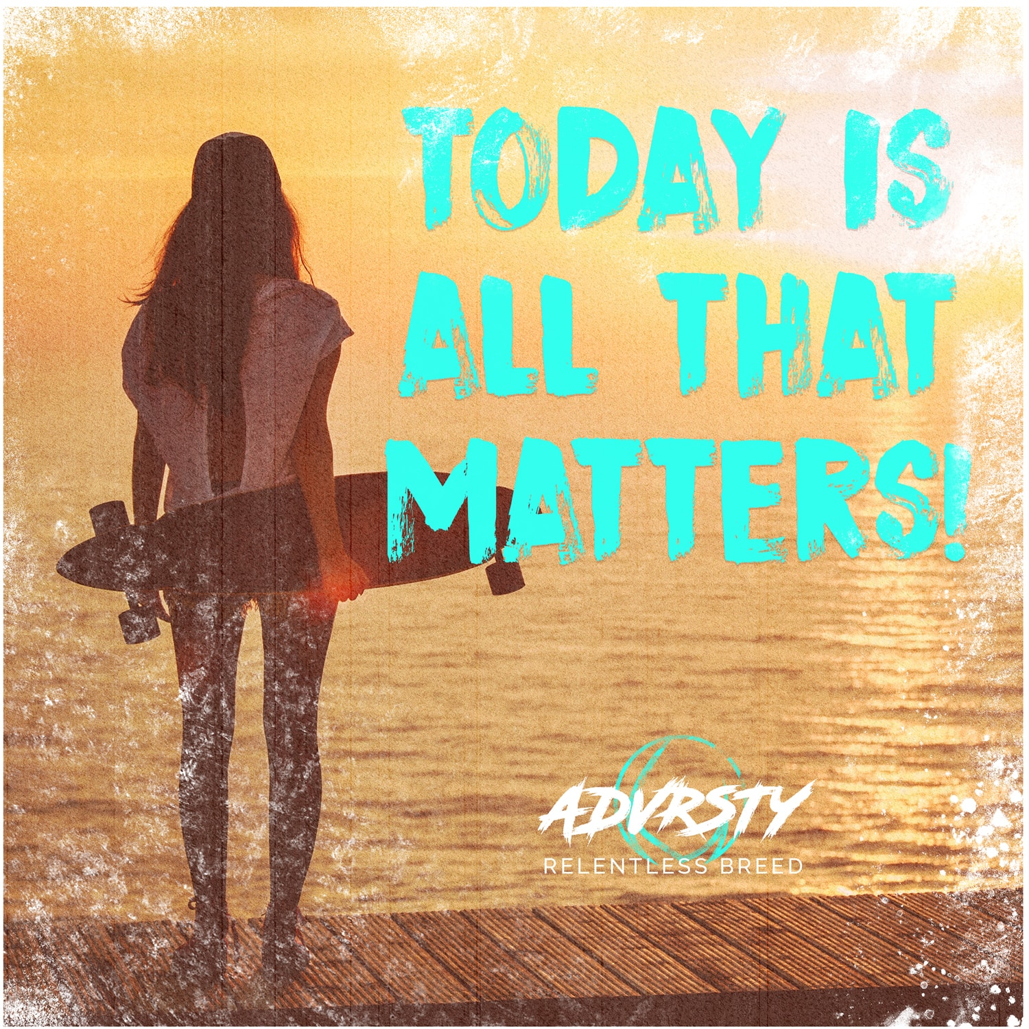 Today is All that Matters Advrsty Social Media Post Design